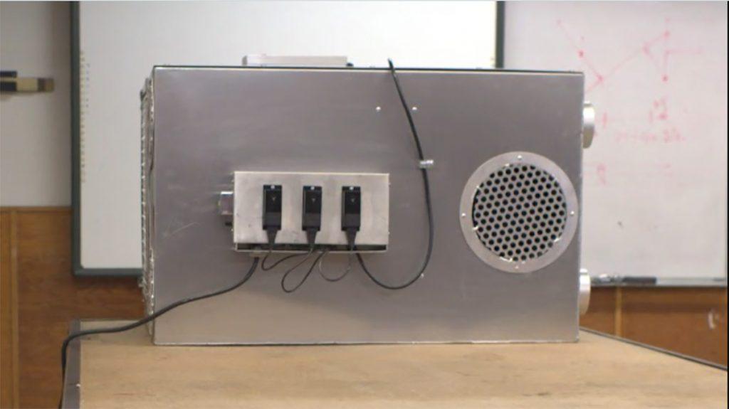 SMART19 Portable Modular Air Pressurization Filter Box