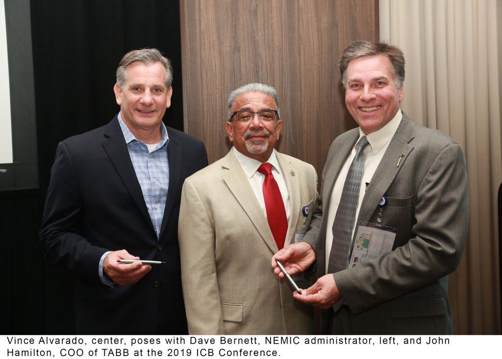ICB conference photo with Vince Alvarado